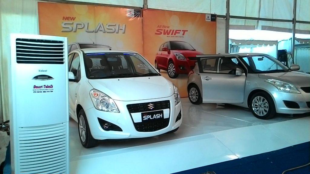 Sewa AC Pekanbaru - Launching produk Suzuki